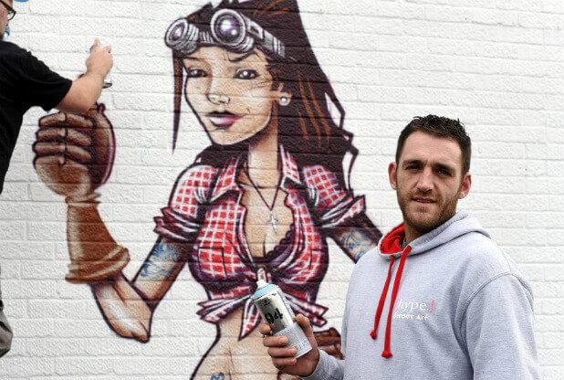 Merbro Mural – Hype Street Art